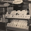 A photograph of Brownie's stall at the 1958 Selfridges Advance Australia Fair
