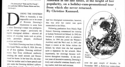 This article appeared in the Carters Antiques Collectibles in 1991