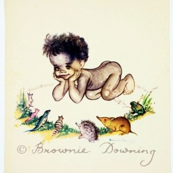 Print -indigenous Australian child 5
