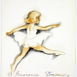 Original painting - ballet 1