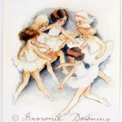 Original painting - ballet 3