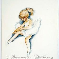 Original painting - ballet 6