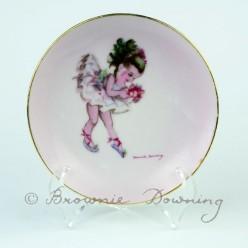 Ceramic plate 2 - ballet