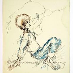 Original drawing - Chele tomboy
