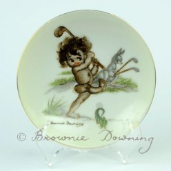 Ceramic plate 10 -indigenous Australian child