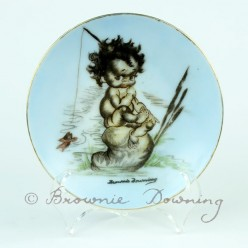 Ceramic plate 2 -indigenous Australian child