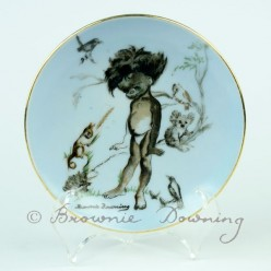 Ceramic plate 5 -indigenous Australian child
