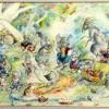 Original painting - Koala Bear's Picnic