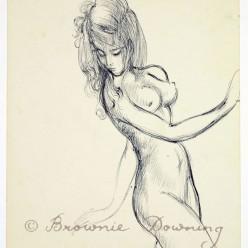 Original drawing - nude