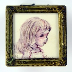 Original minature painting - Chele